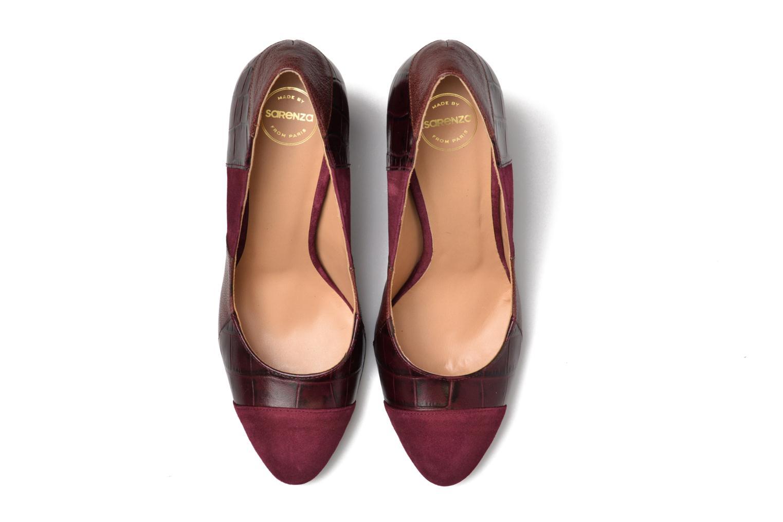 Escarpins Made by SARENZA My Talon Is Rich #6 Bordeaux vue portées chaussures