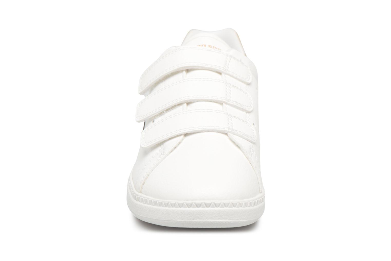 Baskets Le Coq Sportif Courtone Ps Blanc vue portées chaussures
