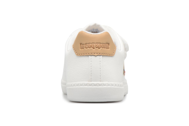 Baskets Le Coq Sportif Courtone Ps Blanc vue droite