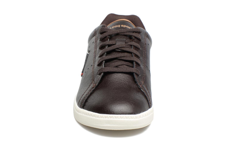 Baskets Le Coq Sportif Courtone Gs Noir vue portées chaussures
