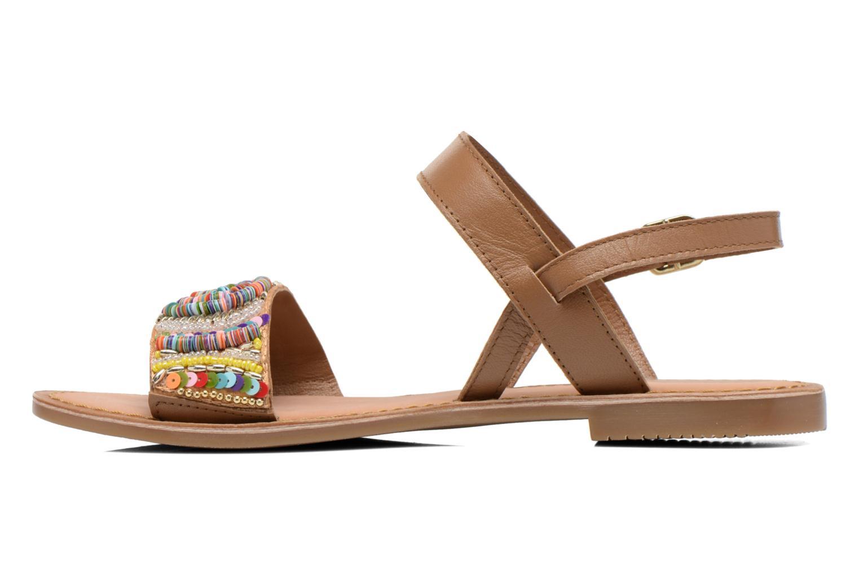 Sandales et nu-pieds Gioseppo Dove Multicolore vue face