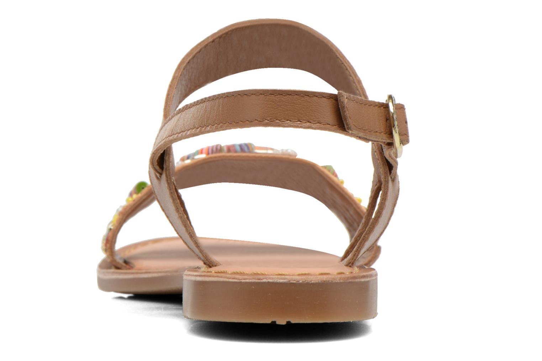 Sandales et nu-pieds Gioseppo Dove Multicolore vue droite