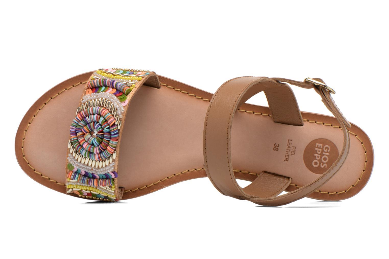 Sandales et nu-pieds Gioseppo Dove Multicolore vue gauche