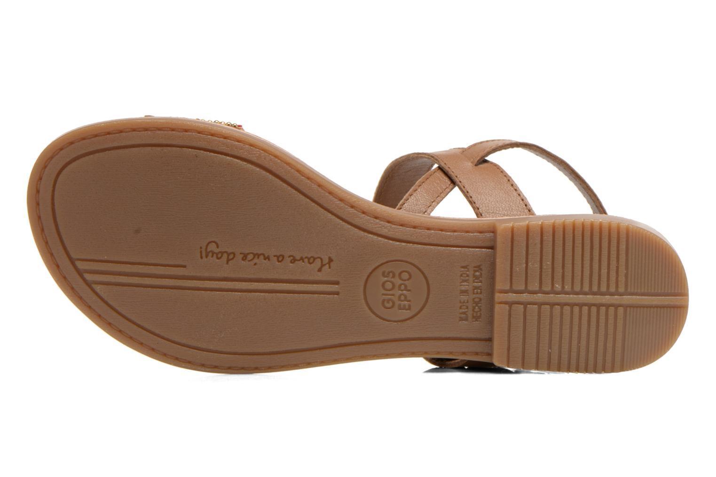 Sandales et nu-pieds Gioseppo Dove Multicolore vue haut