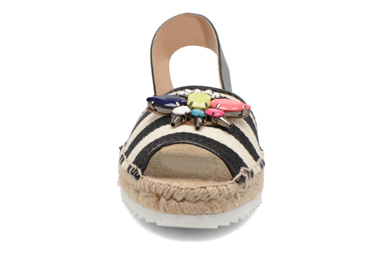 Sandales et nu-pieds Gioseppo Coticcio Noir vue portées chaussures