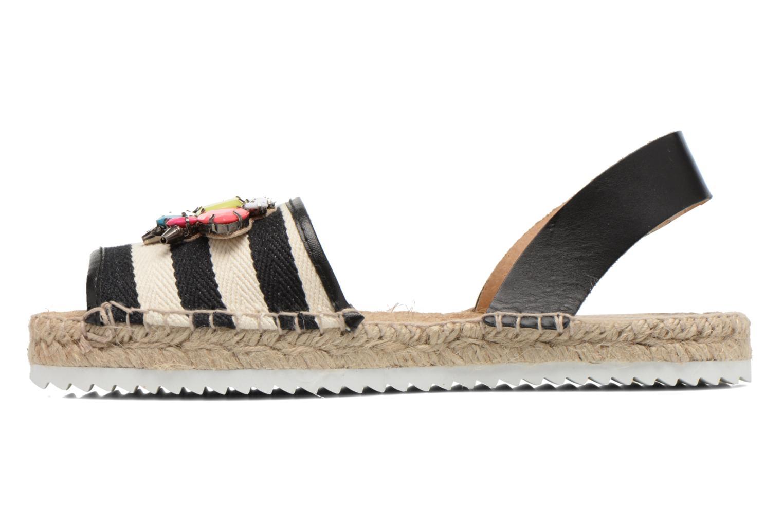 Sandales et nu-pieds Gioseppo Coticcio Noir vue face