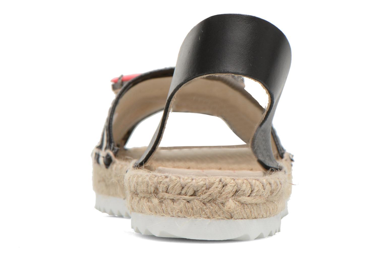 Sandales et nu-pieds Gioseppo Coticcio Noir vue droite
