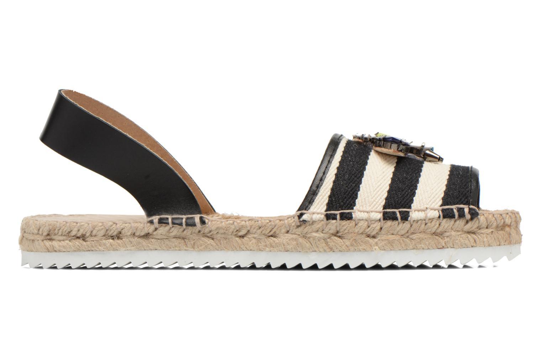 Sandales et nu-pieds Gioseppo Coticcio Noir vue derrière