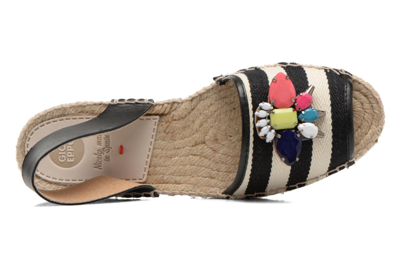Sandales et nu-pieds Gioseppo Coticcio Noir vue gauche