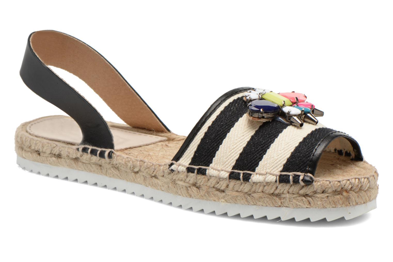 Sandales et nu-pieds Gioseppo Coticcio Noir vue détail/paire