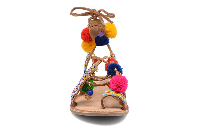 Sandales et nu-pieds Gioseppo Omahas Multicolore vue portées chaussures
