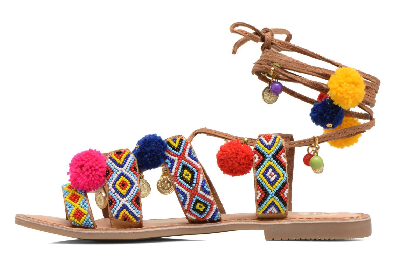 Sandales et nu-pieds Gioseppo Omahas Multicolore vue face