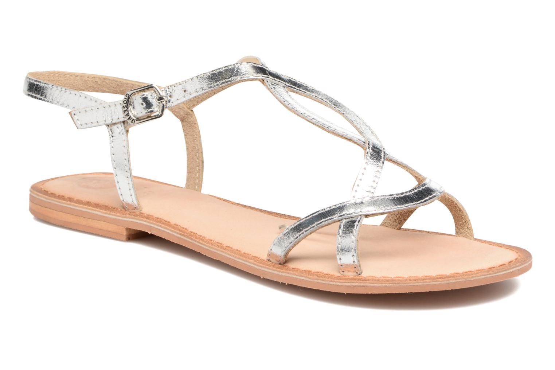 Sandales et nu-pieds Gioseppo Silva Argent vue détail/paire