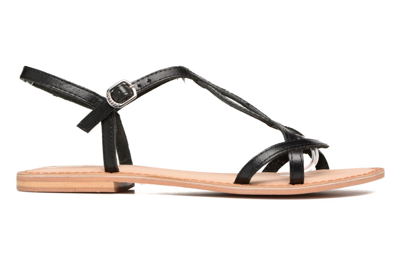 Sandales et nu-pieds Gioseppo Silva Noir vue derrière