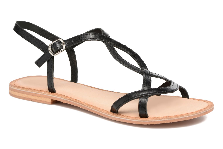 Sandales et nu-pieds Gioseppo Silva Noir vue détail/paire