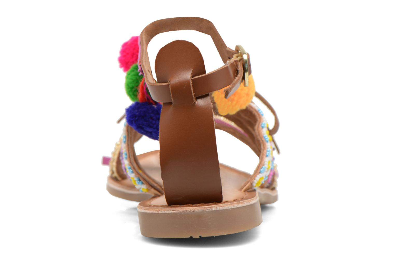 Sandales et nu-pieds Gioseppo Sia Multicolore vue droite
