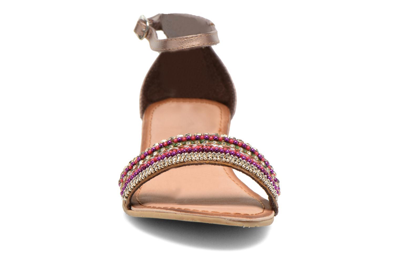 Sandales et nu-pieds Gioseppo Losne Multicolore vue portées chaussures