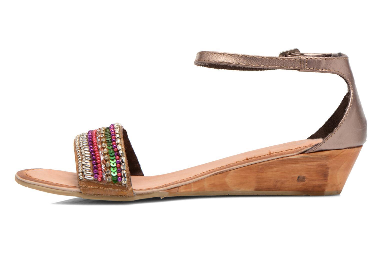 Sandales et nu-pieds Gioseppo Losne Multicolore vue face