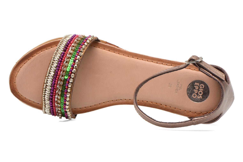 Sandales et nu-pieds Gioseppo Losne Multicolore vue gauche