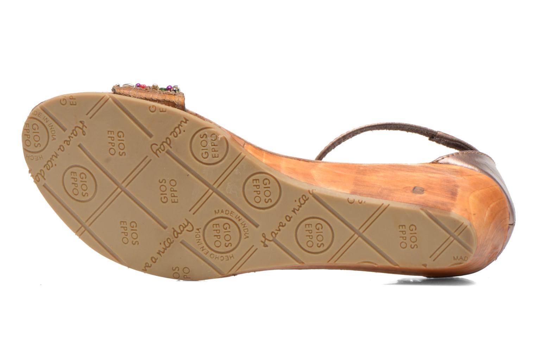 Sandales et nu-pieds Gioseppo Losne Multicolore vue haut