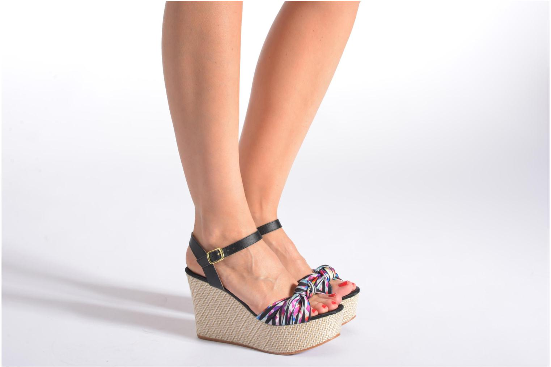 Sandales et nu-pieds Gioseppo Realeja Multicolore vue bas / vue portée sac
