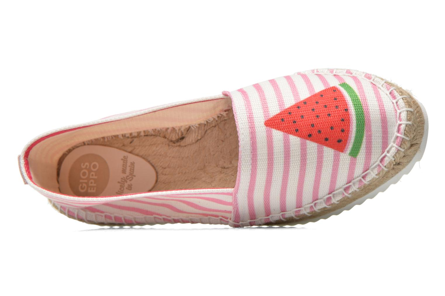 Espadrilles Gioseppo Diluna Multicolor view from the left