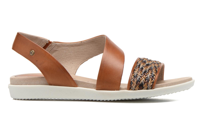 Sandales et nu-pieds Pikolinos Antillas W0H-0803 Marron vue derrière