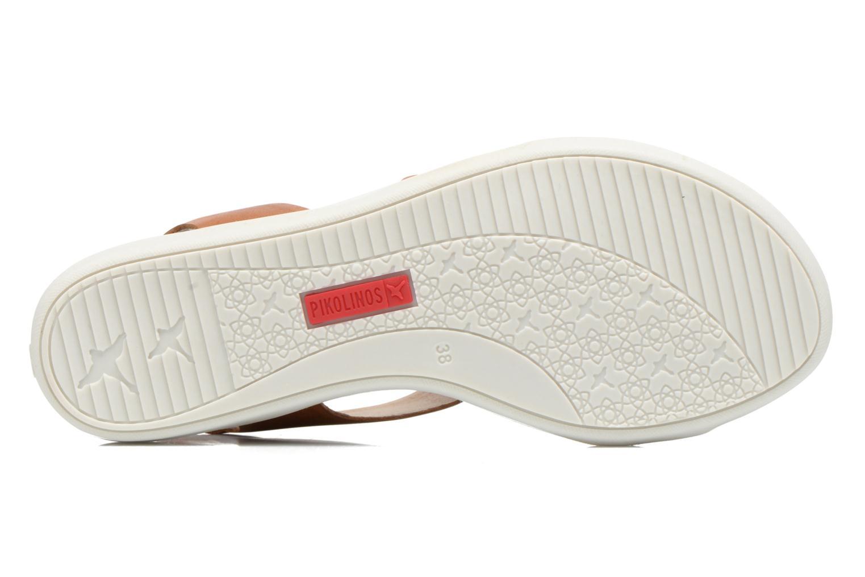 Sandales et nu-pieds Pikolinos Antillas W0H-0803 Marron vue haut