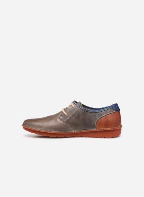Chaussures à lacets Pikolinos Santiago M7B-4023 Gris vue face