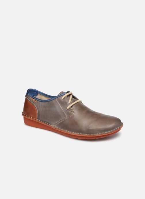 f59c17cdb4 Zapatos con cordones Pikolinos Santiago M7B-4023 Gris vista de detalle   par