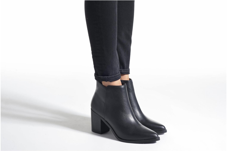 Bottines et boots Buffalo Tida Bleu vue bas / vue portée sac