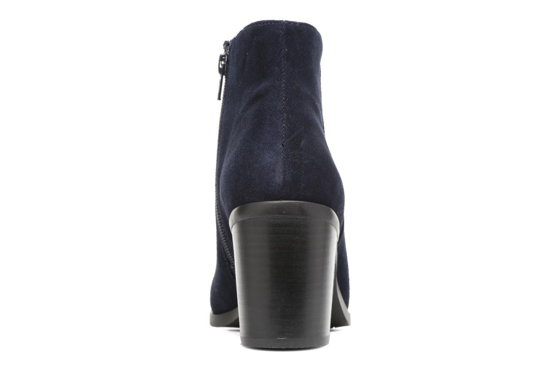Bottines et boots Buffalo Tida Bleu vue droite