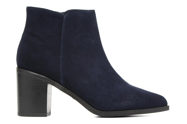 Bottines et boots Buffalo Tida Bleu vue derrière
