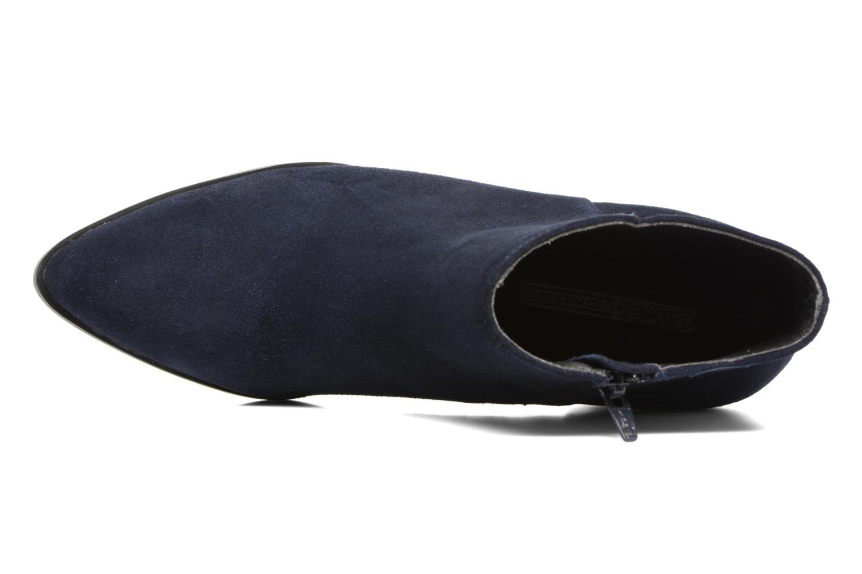 Bottines et boots Buffalo Tida Bleu vue gauche