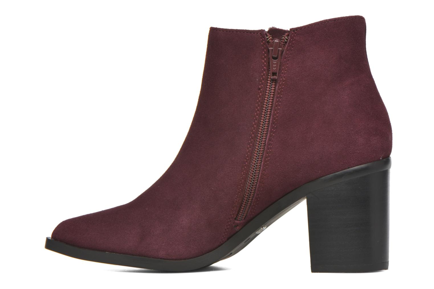 Bottines et boots Buffalo Tida Bordeaux vue face