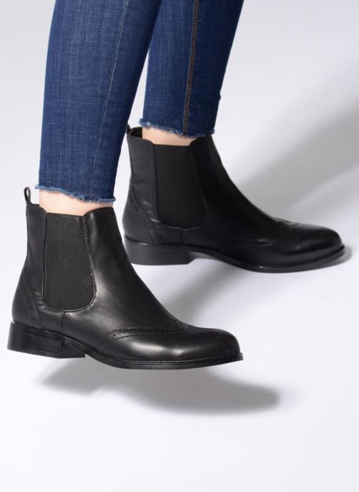 Ankle boots Buffalo Elb Black view from underneath / model view