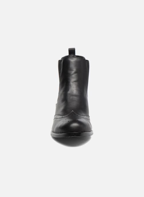 Bottines et boots Buffalo Elb Noir vue portées chaussures