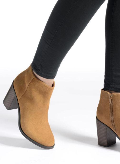 Bottines et boots Buffalo Fodol Marron vue bas / vue portée sac