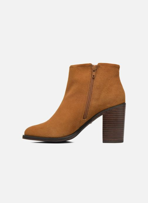 Ankle boots Buffalo Fodol Brown front view