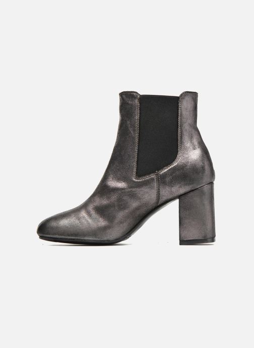Ankle boots Bronx Indira Bronze and Gold front view