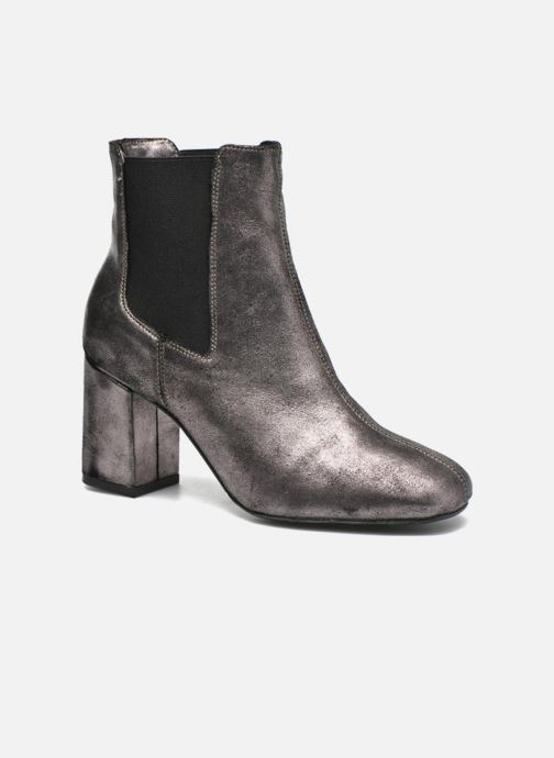 Ankle boots Bronx Indira Bronze and Gold detailed view/ Pair view