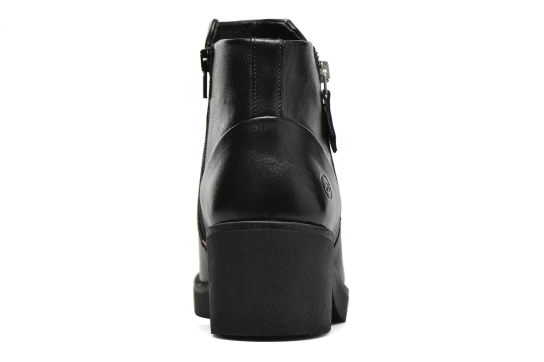 Bottines et boots Bronx Law Noir vue droite