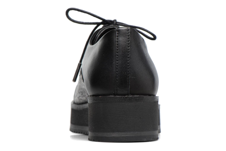 Chaussures à lacets Bronx Vino Noir vue droite