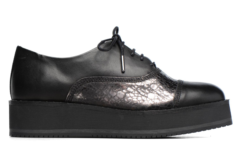 Chaussures à lacets Bronx Vino Noir vue derrière