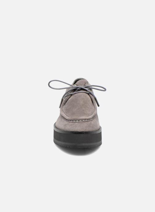 Chaussures à lacets Bronx Vino I Gris vue portées chaussures