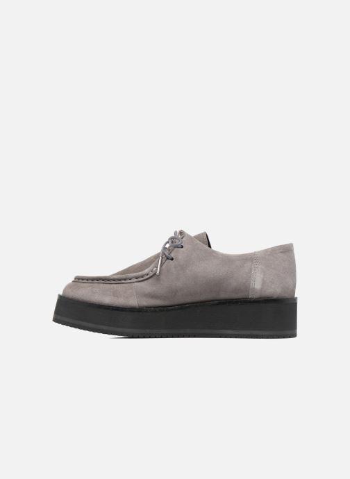 Chaussures à lacets Bronx Vino I Gris vue face