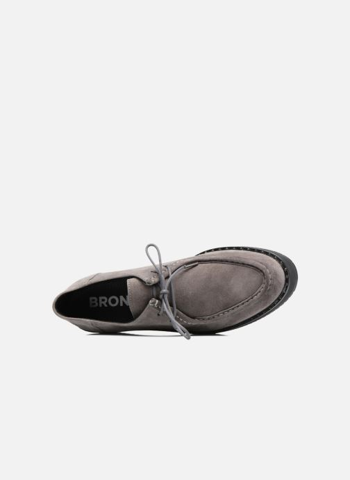 Lace-up shoes Bronx Vino I Grey view from the left