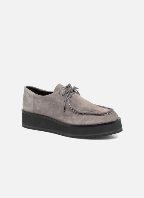 Lace-up shoes Bronx Vino I Grey detailed view/ Pair view