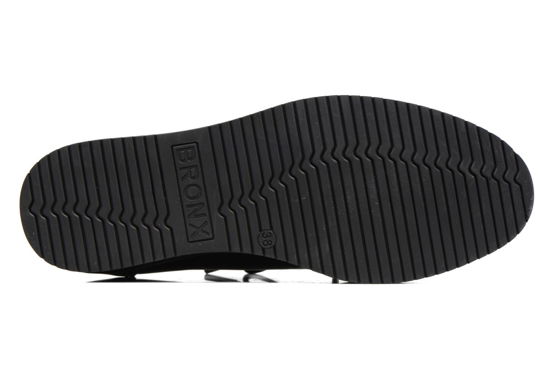 Chaussures à lacets Bronx Vino I Noir vue haut