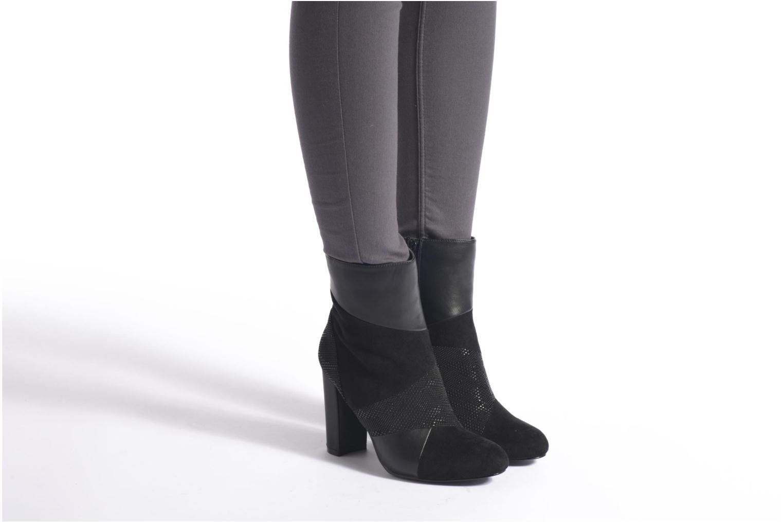 Bottines et boots Blink Stine Noir vue bas / vue portée sac